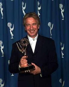 Alan Rickman Recieving An Award