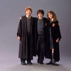 Троица на первом курсе.