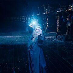Дамблдор противостоит Волан-де-Морту