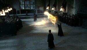 SnapeMcGonagall duel