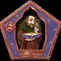 Cornelius Agrippa Chocolate Frog Card