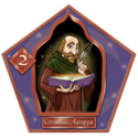 Cornelius Agrippa Chocolate Frog Card