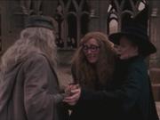 Trelawney Thanking Dumbledore