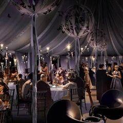 Свадебный шатёр внутри