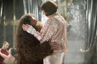 Hagrid and Madame Maxine