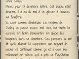 Lettre de Harry Potter à Sirius Black (1994)