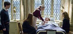 Poppy Pomfrey - Ron Weasley