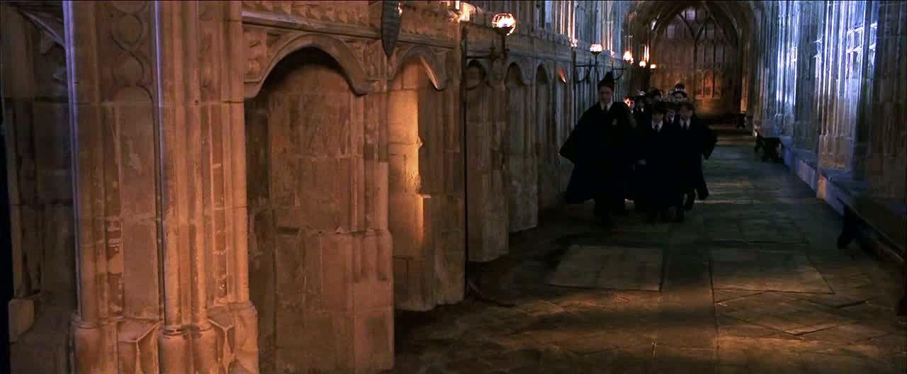 Image - Fat Lady corridor PS 1.jpg   Harry Potter Wiki ...