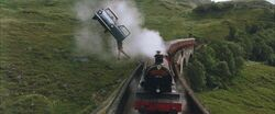 Ford Angela and Hogwarts Express