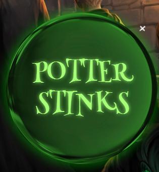 Potter Stinks Badge