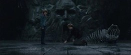 Ron and Hermione in the Chamber of secret
