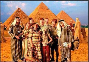 Weasleyn perhe Egyptissä