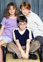 HP1 Harry Potter Casting 2000 2