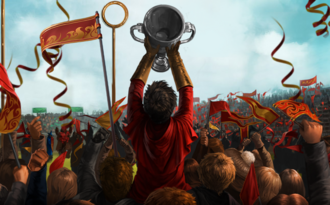 Harry win Quidditch Cup