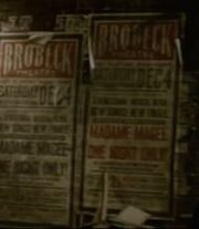 Posters do Brobeck Theatre
