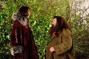 HP4 Olympe Maxime & Rubeus Hagrid