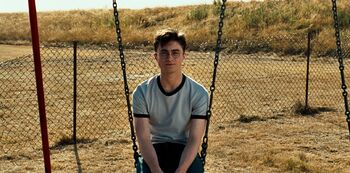 Harry potter huśtawka