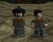 Lego Igor Karkaroff et Viktor Krum