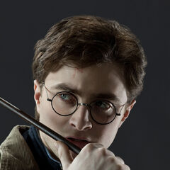 Гарри с палочкой Драко Малфоя