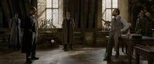 Dumbledore interrogated
