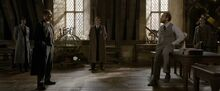 Dumbledore interrogated