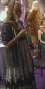 Gabrielle Delacour at the Wedding of William Weasley and Fleur Delacour
