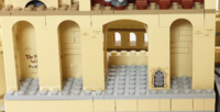 Lego korytarz