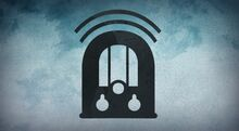 Podcast radio icon BIG
