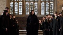 Snape Great Hall Headmaster