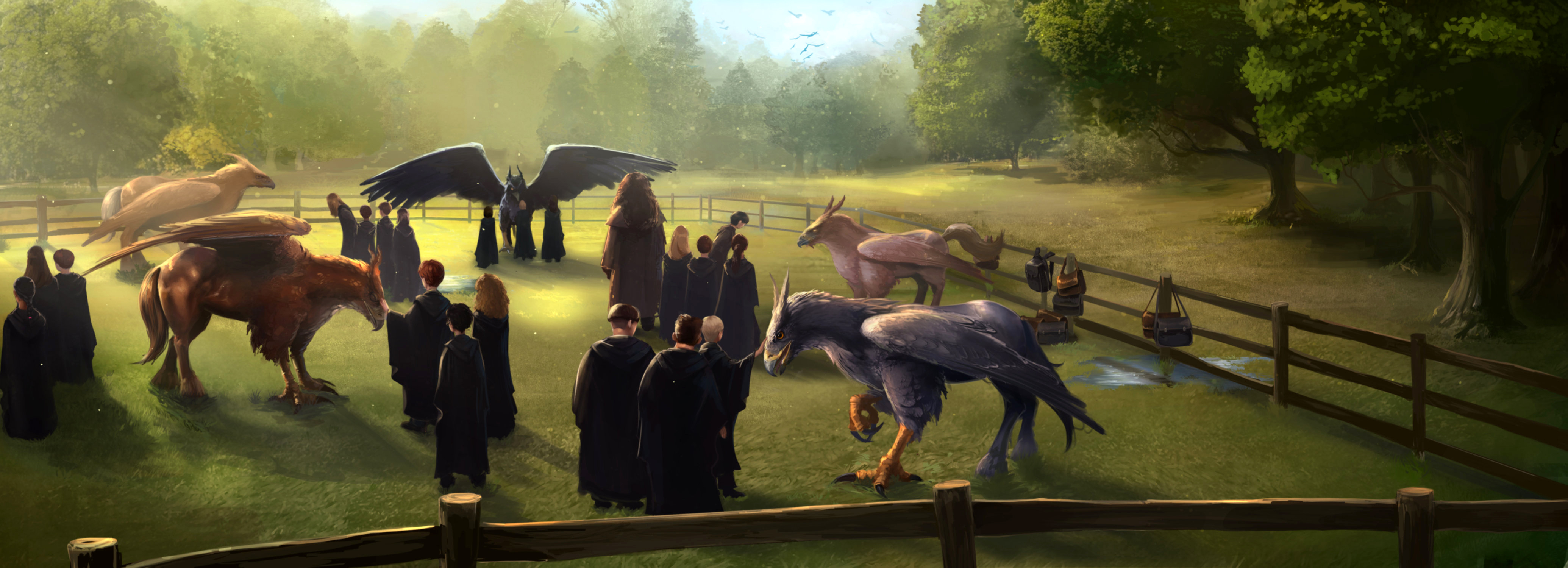 Image result for pottermore care of magical creatures class