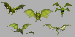 Bat-Bogey Hex concept art