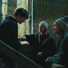 Гарри получает Карту Мародёров