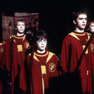 Первая игра Гарри Поттера