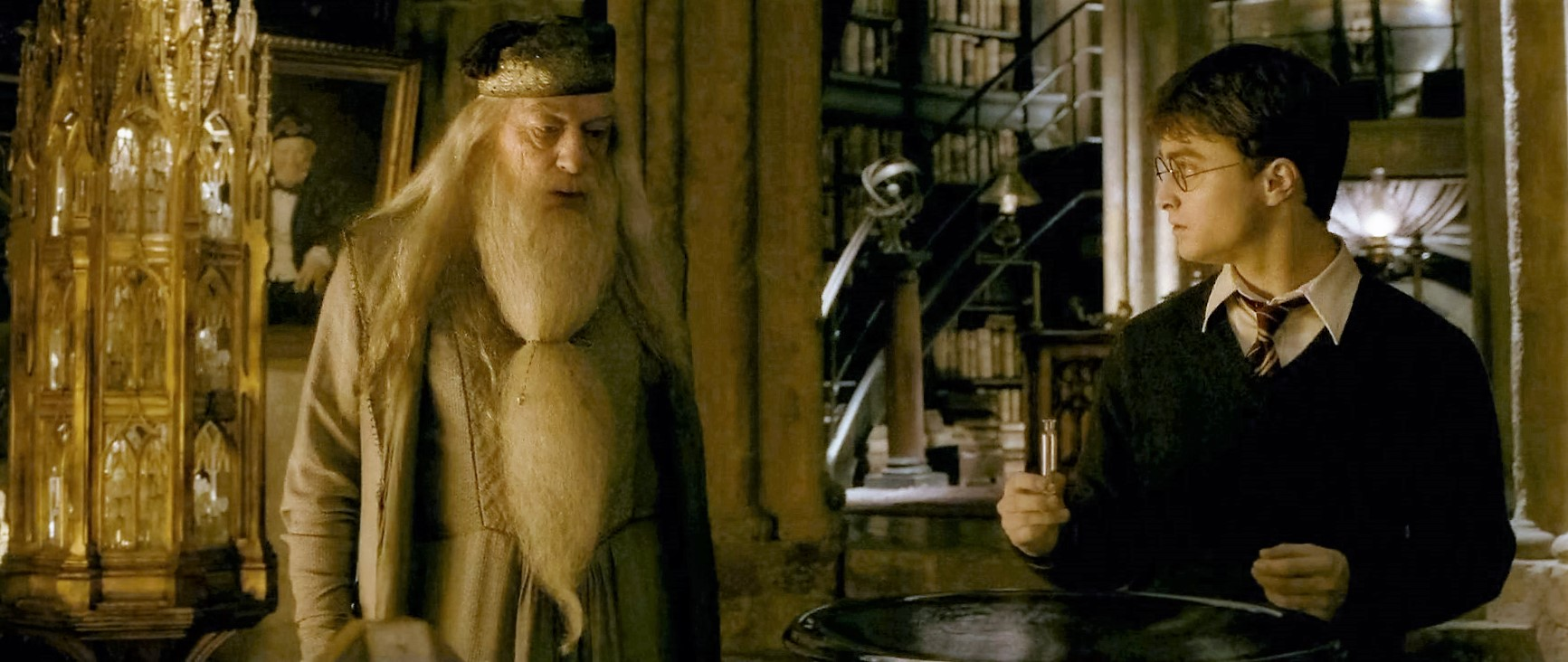 Albus Dumbledore and Harry Potter's Horcrux Hunt | Harry