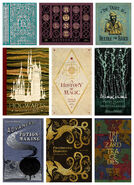 MinaLima Store - Book Covers from Hogwarts - Compilation