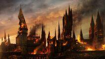 P7 Batalla de Hogwarts