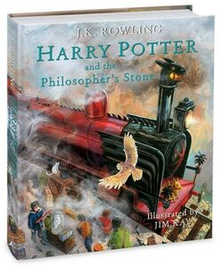 Harry Potter and the Philosopher's Stone cover Jim Kay