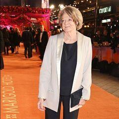 Мэгги Смит на премьере фильма «Отель «Мэриголд». Заселение продолжается» (2015)