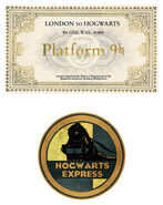 MinaLima Store - Hogwarts Ticket and Luggage Label