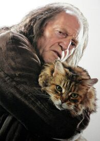 Filch & Mrs Norris