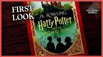 First Look at the MinaLima Illustrated Edition of Sorcerer's Stone Scholastic