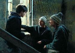 Harry récupère la carte du Maraudeur
