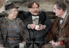 Deathly Hallows Part 2. Professor Sprout, Flitwick, and Slaghorn