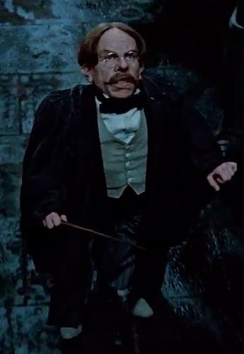 呪文学の教員フィリウス・フリットウィック