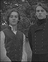 Gellert Grindelwald e Alvo Dumbledore