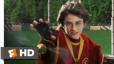 Harry Potter and the Sorcerer's Stone (4 5) Movie CLIP - Catching the Snitch (2001) HD