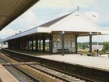 Железнодорожная станция в Авиморе