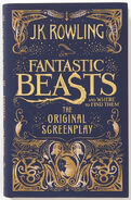 MinaLima Store - Fantastic Beasts and Where to Find Them The Original Screenplay (signed copy)