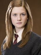 OOTP promo front closeup Ginny Weasley