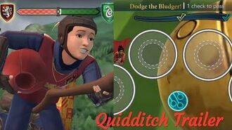 Quidditch Trailer Harry Potter Hogwarts Mystery